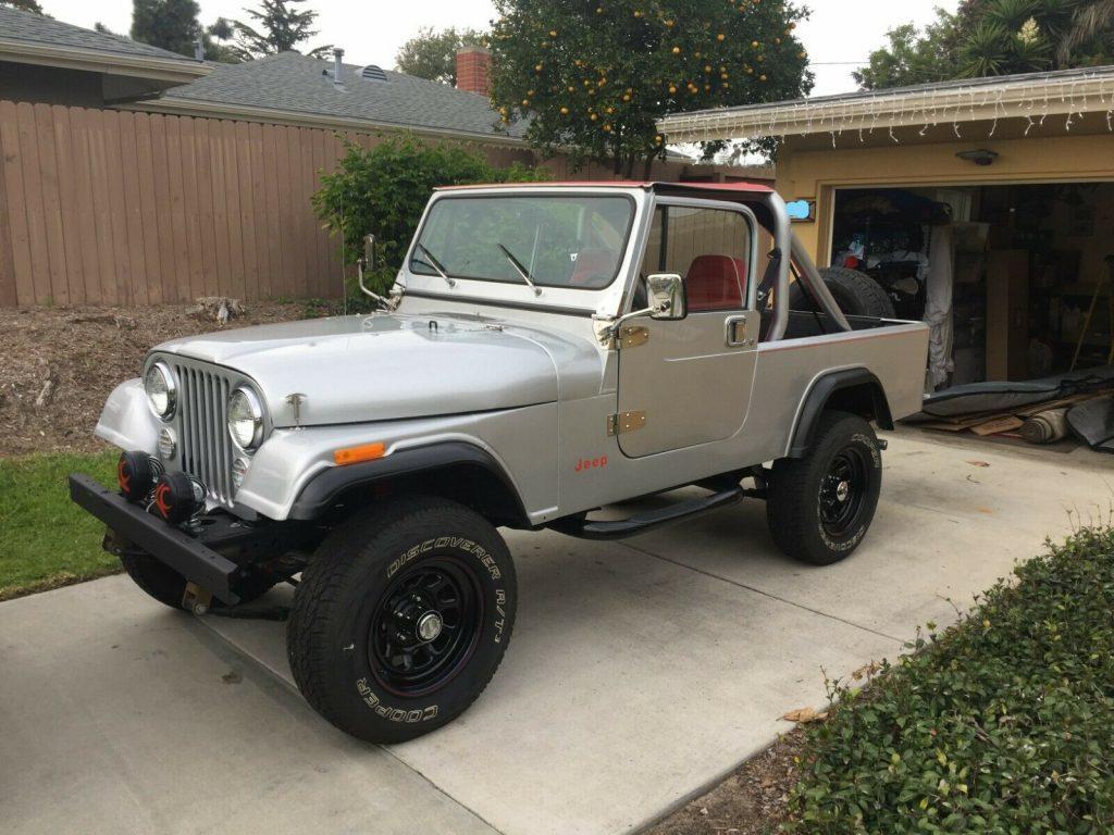 1982 Jeep CJ Scrambler