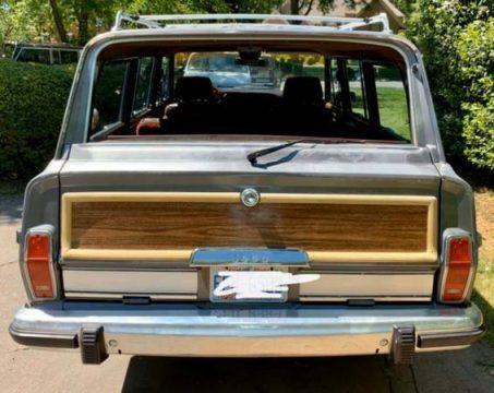 1989 Jeep Wagoneer Grand Wagoneer na prodej
