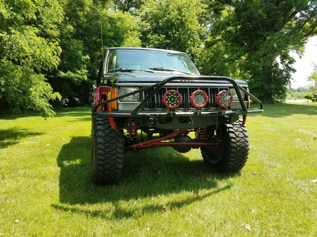 1992 Jeep Cherokee project