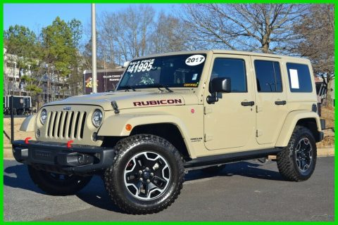 2017 Jeep Wrangler Rubicon HARD ROCK Edition Every Option RARE GOBI na prodej
