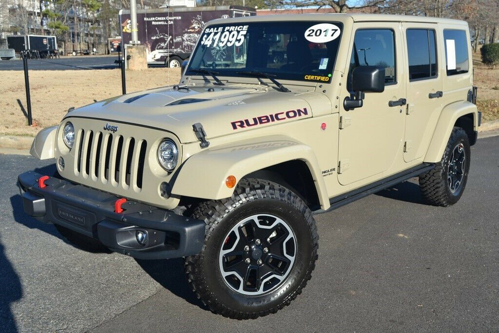 2017 Jeep Wrangler Rubicon HARD ROCK Edition Every Option RARE GOBI