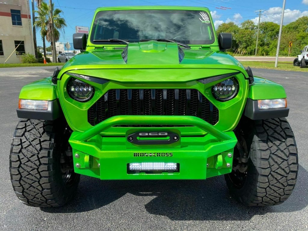2019 Jeep Wrangler BAD FROG Sahara Custom Lifted LEATHER