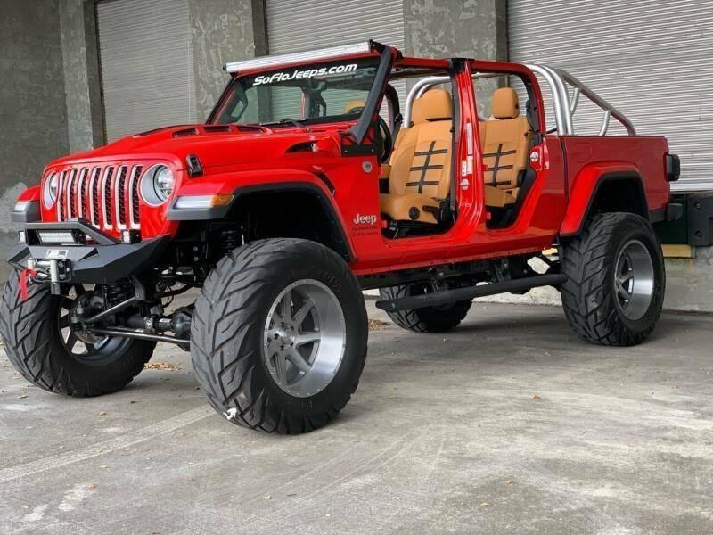 2020 Jeep Gladiator Custom Lifted Gladiator Ferrari Edition