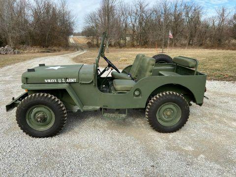 1948 Jeep Willys CJ2A na prodej