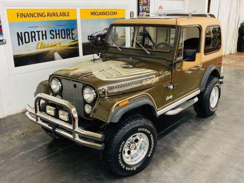 1978 Jeep CJ Golden Eagle Levis Edition  V8 na prodej