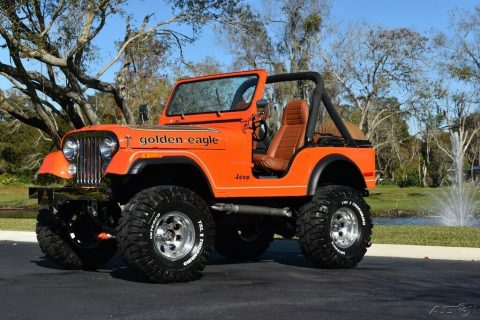 1979 Jeep CJ 5 Soft Top Lifted na prodej