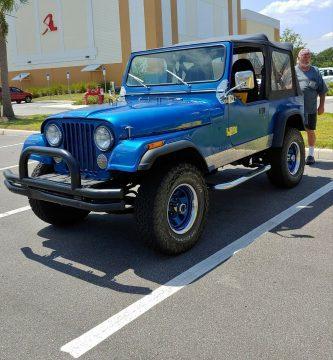 1983 Jeep CJ CJ7 na prodej
