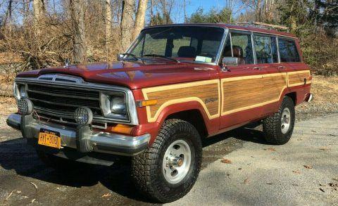 1985 Jeep  Grand Wagoneer LIMITED na prodej