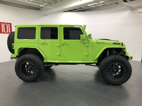 2013 Jeep Wrangler Unlimited Rubicon na prodej