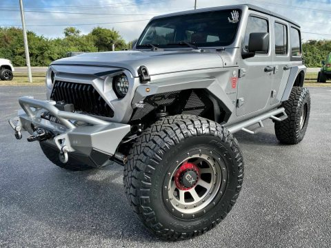 2019 Jeep Wrangler Custom Lifted Leather DV8 OCD N FAB NITTO na prodej