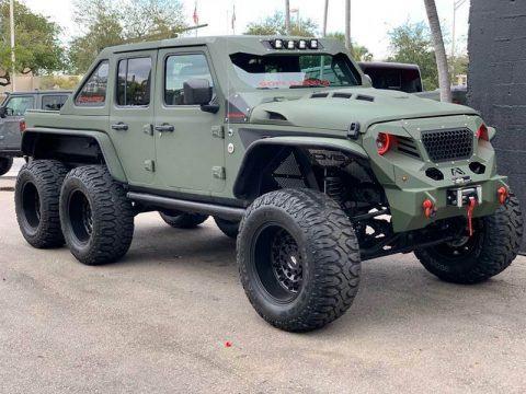2020 Jeep Wrangler E 6×6 by Soflo Jeeps na prodej