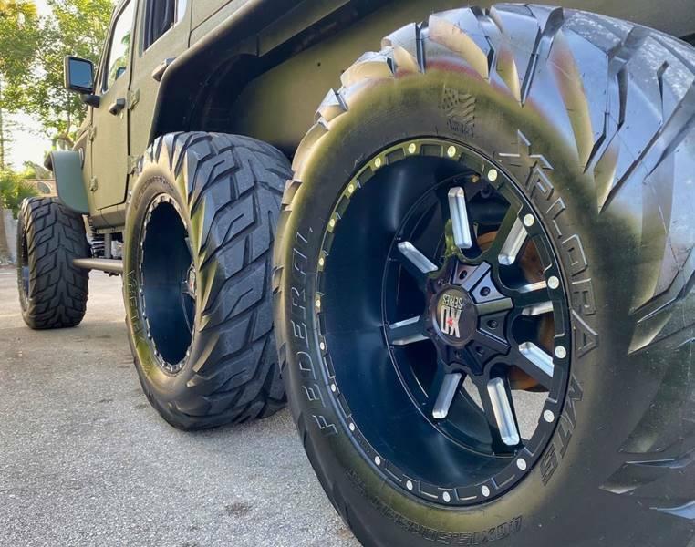 2020 Jeep Wrangler E 6×6 by Soflo Jeeps