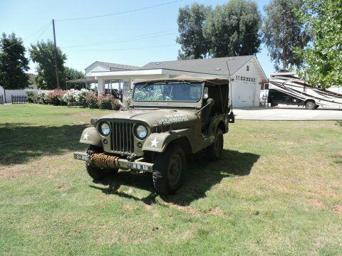 1952 Jeep CJ military M38A1 na prodej