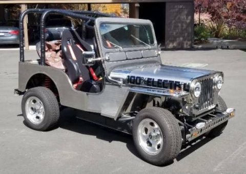 1952 Jeep Willys EV Electric vehicle na prodej
