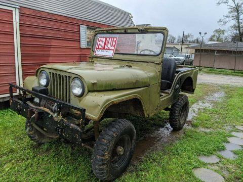 1958 Willys Jeep CJ 5 na prodej