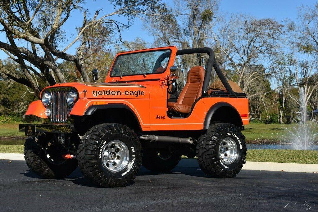1979 Jeep CJ Soft Top Lifted