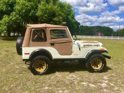 1979 Jeep CJ5 Golden Eagle na prodej