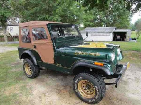 1982 Jeep CJ5 na prodej