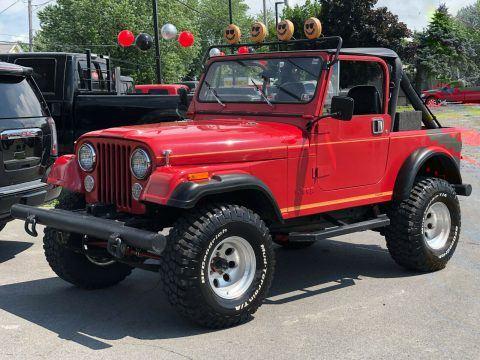 1986 Jeep CJ CJ7 na prodej