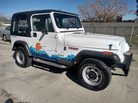 1992 Jeep Wrangler Sport YJ na prodej
