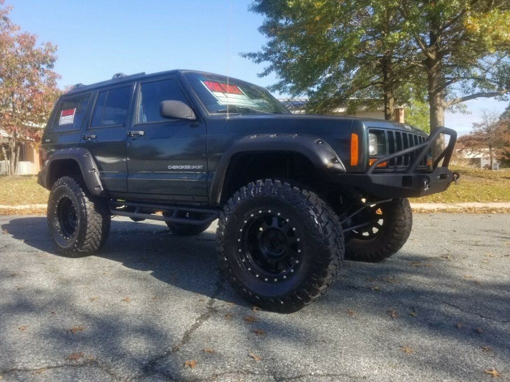 2000 Jeep Cherokee Custom