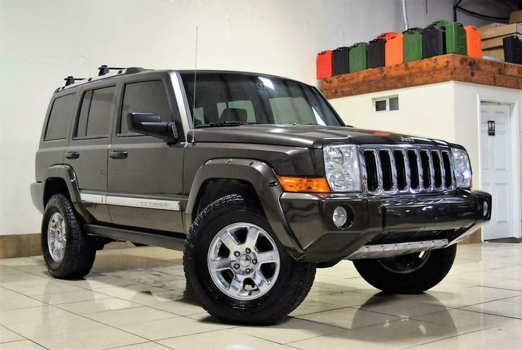 2006 Jeep Commander Limited Lifted OFF ROADING