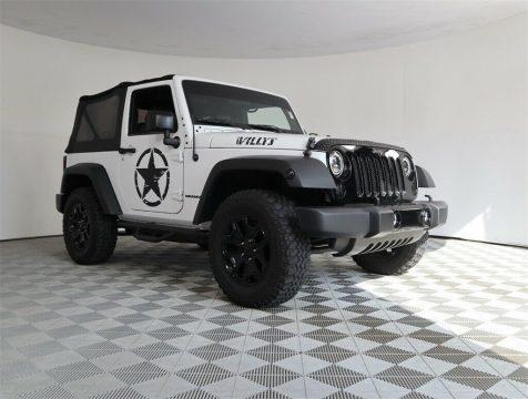 2016 Jeep Wrangler Willys Wheeler na prodej