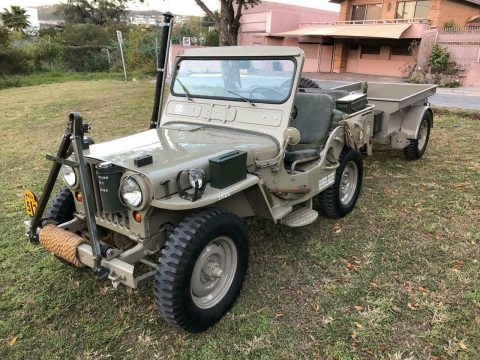1952 Jeep Willys M38 with Full Original Accessories na prodej