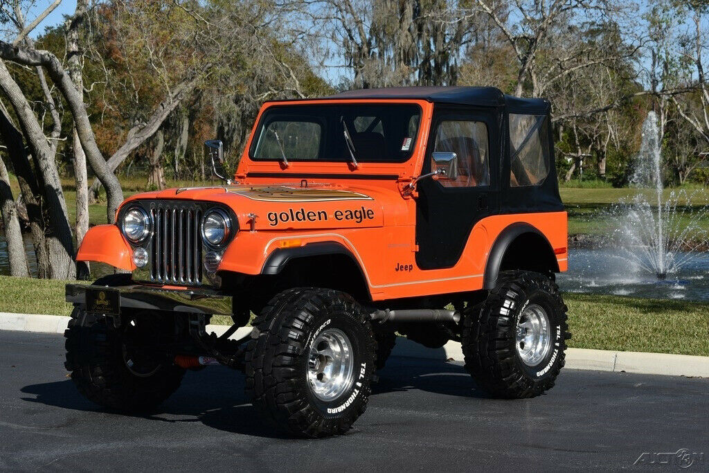 1979 Jeep CJ5 Soft Top Lifted