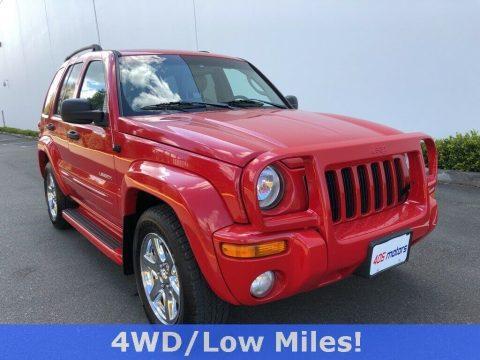 2004 Jeep Liberty Limited na prodej