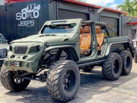 2020 Jeep Wrangler Turbo Diesel 6×6 na prodej