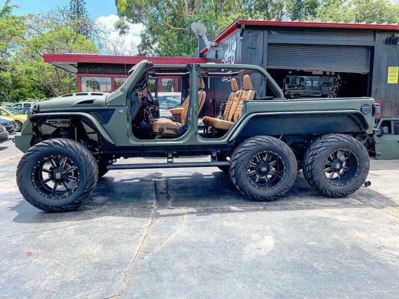 2020 Jeep Wrangler Turbo Diesel 6×6