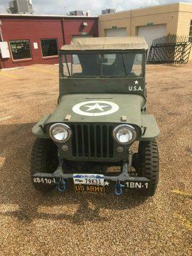 1946 Jeep CJ Military na prodej