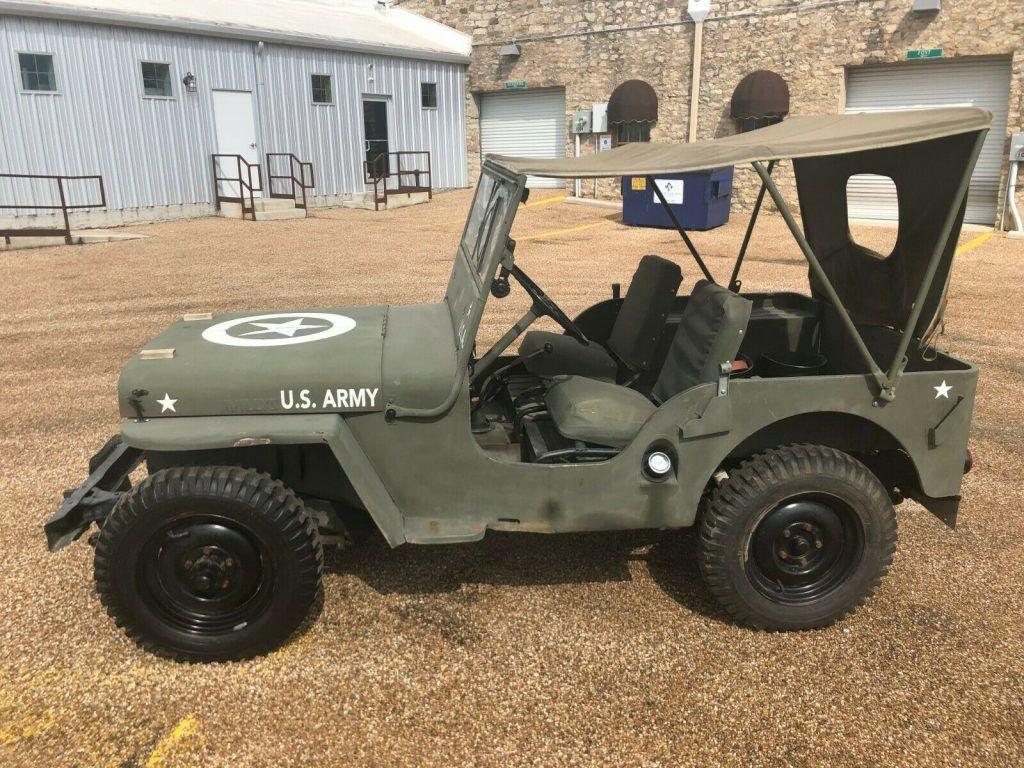 1946 Jeep CJ Military