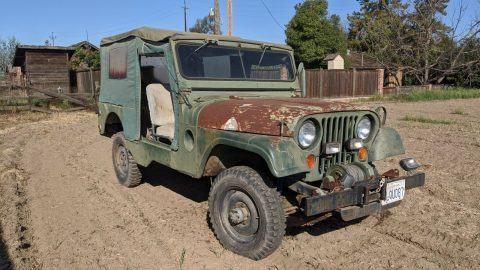 1962 Jeep Willys M170 na prodej