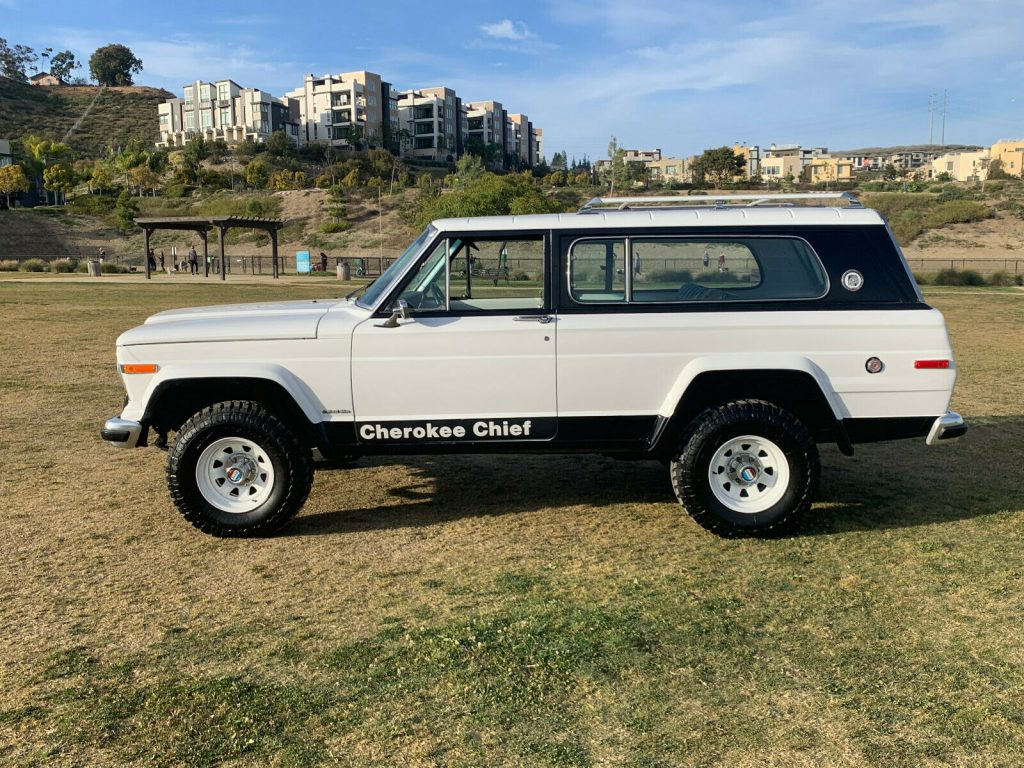 1978 Jeep Cherokee Chief WideTrack