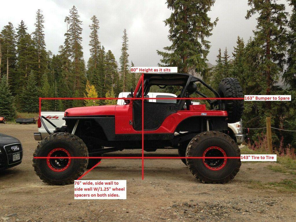 1980 Jeep CJ5 Stretched ROCK CRAWLER
