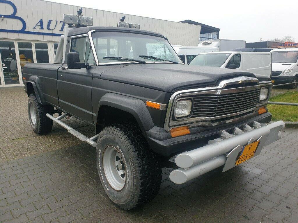 1981 Jeep J20 Gladiator V8 Diesel
