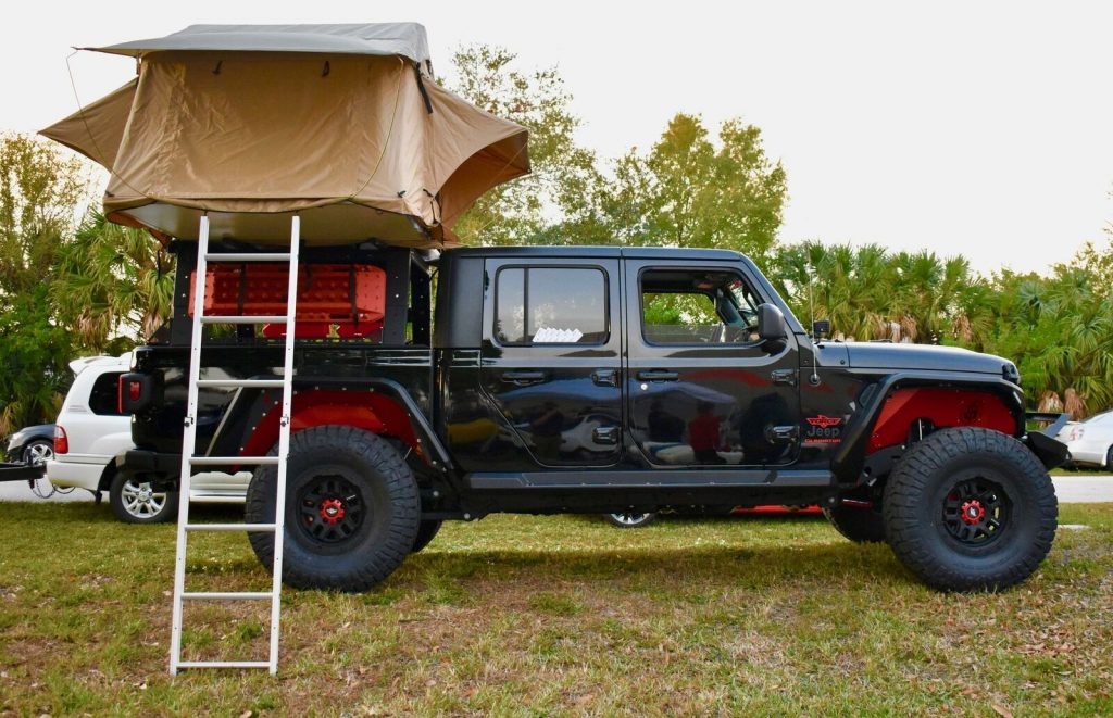 2020 Jeep Gladiator *delta 1* Overlander BUILD