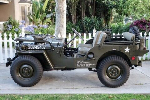 1951 Willys Jeep Perfectly Restored na prodej