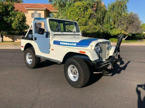 1976 Jeep CJ5 na prodej