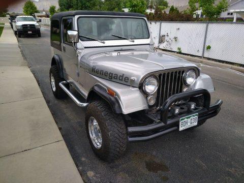 1977 Jeep CJ 7 Renegade na prodej