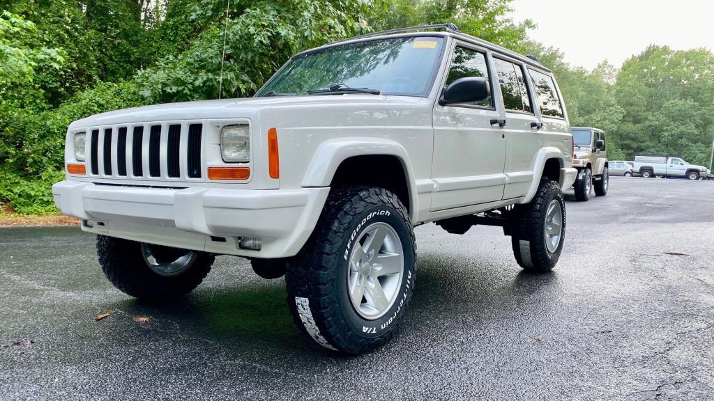 1999 Jeep Cherokee Stage 2 BUILD