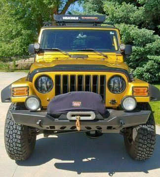 2003 Jeep Wrangler na prodej