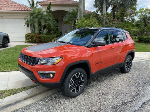 2018 Jeep Compass Trailhawk, 4×4 *LOW MILES! na prodej