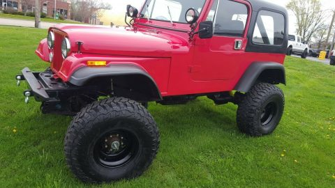 Jeep CJ7 na prodej