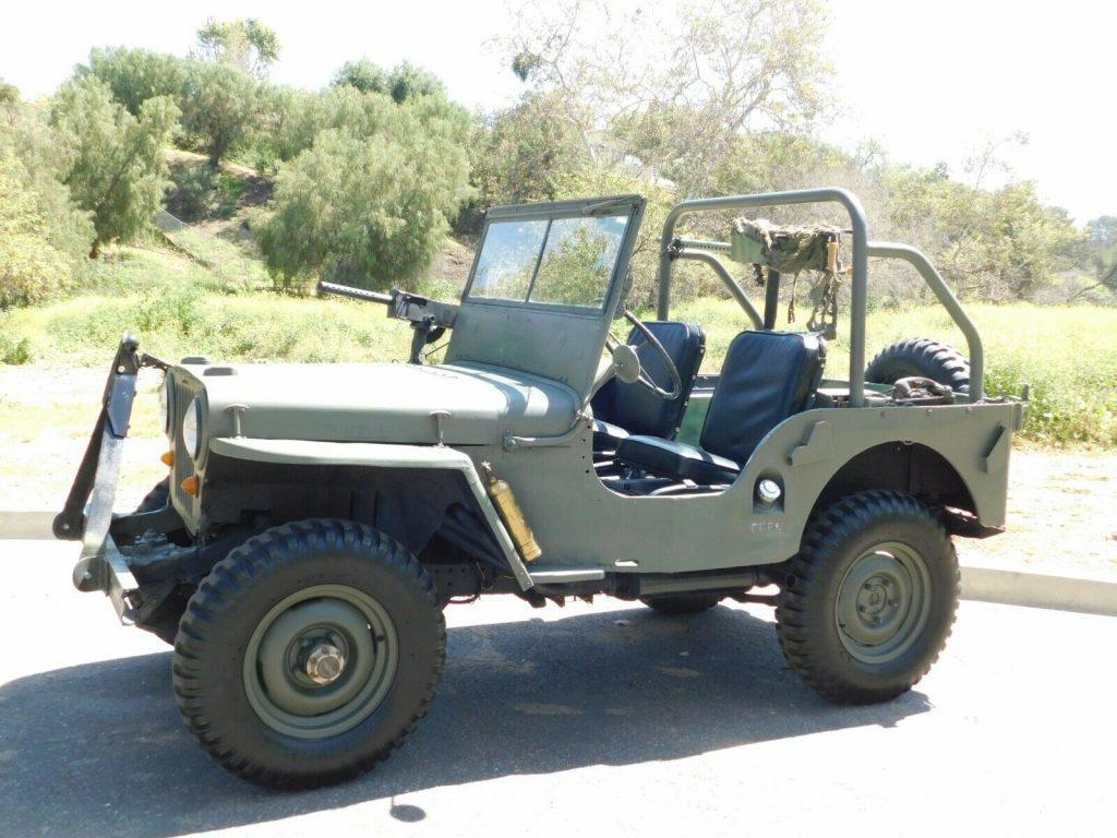 1946 Willys CJ2A ARMY