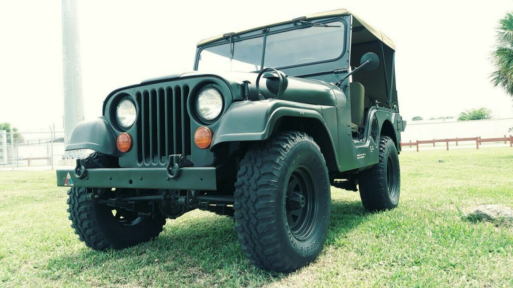 1955 Jeep Willys M38A1