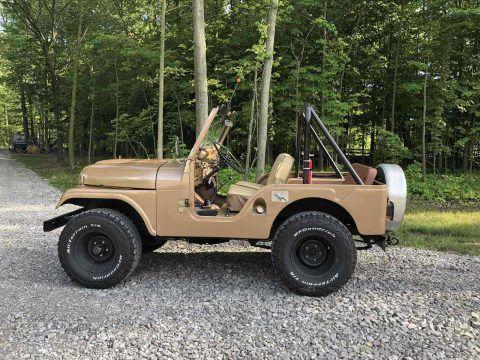 1966 Jeep CJ 5 Basic na prodej