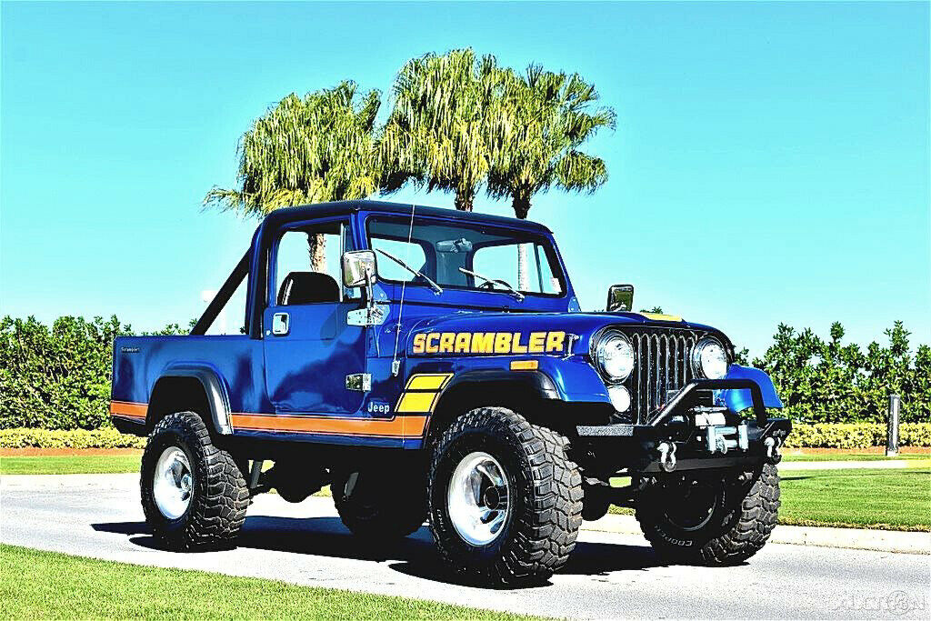 1981 Jeep Scrambler CJ 8 355ci 4 Speed 4×4